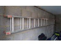 Aluminium ladders diy 16 rungs long!