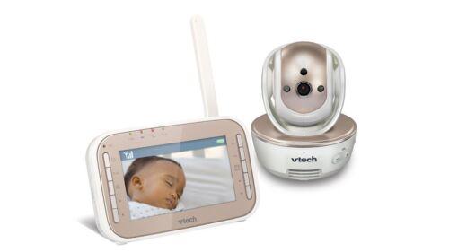 VTech Safe&Sound Baby Monitor White/Champagne VM343