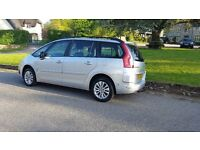 Citroen C4 Grand Picasso VTR+ (1749cc) 2008 7-seater low mileage MOT Mar 2018 great family car