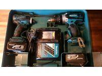 Makita 18v drill set