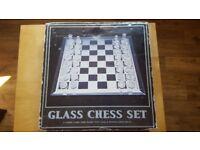 Chess Set Glass