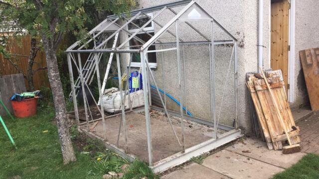Greenhouse frame FREE no glass | in Inverness, Highland | Gumtree