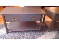 Coffee Table matching Lamp/Side Table