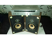 Quality Vintage Amp+Speakers