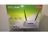 Wireless Router TP-Link Model TL-WR841N