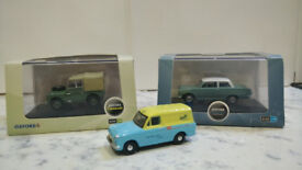 OXFORD COMMERCIALS 1:76 SCALE VEHICLES
