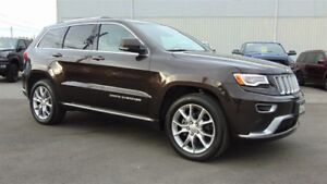 2016 Jeep Grand Cherokee SUMMIT 4X4 - EXECUTIVE DEMO -  ONLY 18,