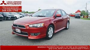 2013 Mitsubishi Lancer SE 10th Anniversary Edition - JUST $113/8