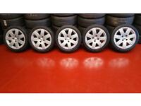 Citroen Genuine 16 alloy wheels + 5 x tyres 195 45 16