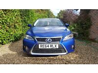 Lexus CT 200h Sport 2014 5dr Automatic 1.8L - Brilliant mileage, superb condition, Only 1 Lady Owner