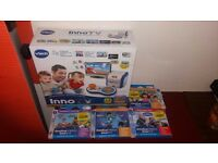 Brand new inno Tv from Argos with receipt plus 4 games