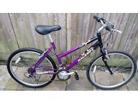 Raleigh Vixen - teenage girl /woman's - 26 inches Mountain Bike