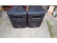 EV speakers subwoofer 120