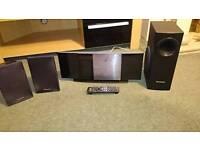 Panasonic 2.1 Dvd Home Cinema Surround Sound Ipod Dock SA-PTX60