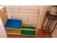 Toy and book rack shelves
