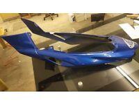 Triumph Sprint ST 1050 Tail Fairing ( 2005 Caspian Blue )