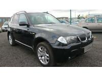 BMW X3 3.0 D M SPORT 5d 215 BHP * QUALITY & BEST VALUE ASSURED * (black) 2006
