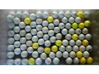 100 mixed Titleist golf balls