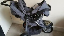 Mothercare Extreme travel system pushchair