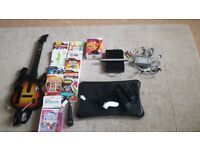 Wii with accessories and games bundle
