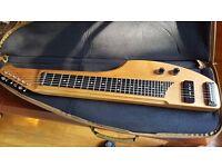 Rukavina 6 String custom Lap Steel guitar w/hand wound P-90 pickup AND gig bag, sweet!!!