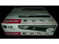 LG Blue-Ray Player 3D Boxed