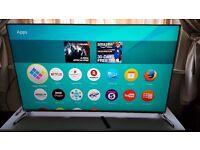 "PANASONIC 40"" TX-40DX700B SUPER Smart 4K HDR 3D TV,built in Wifi,Freeview HD,Great TV,2016 model"