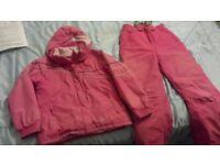 Tresspass Ski Jacket and Pants
