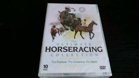 THE ULTIMATE HORSE RACING 10 DVD BOX SET NEW AND SEALED