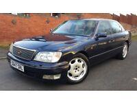 1999 LEXUS LS400 MK4 DHP 4.0 V8 AUTO LS 400 , 139K MILES FSH, FULL MOT, DRIVES WELL
