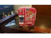 Shopkins Ice-cream truck and fridge plus shopkins