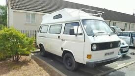 VW 1980 T25 Auto Hightop camper van