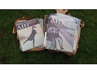 Discovering Art and The Artist about 100 magazines by Purnell
