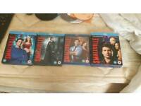 Smallville seasons 6 to 9 original blu-ray boxsets