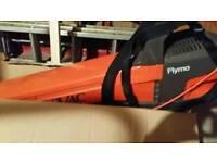 Flymo leaves hoover
