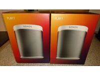 Sonos PLAY:1 Smart Speaker,WHITE, BRAND NEW.NEVER BEEN OPENED