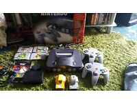 NINTENDO N64 GAMES CONSOLE