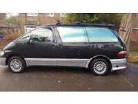 Toyota Estima (Black) 1997 2.4 Petrol / LPG - Automatic ~83200 miles - Long MOT