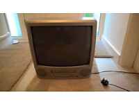 19 inch combi tv/video for sale with remote