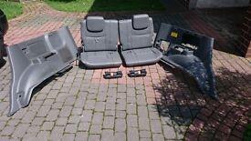 Toyota Land Cruiser 120 3 row third row complete. Leather. Land Cruiser seats, interior, modules
