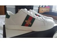 Brand New Womens Gucci Bee Sneakers - Size 36.5