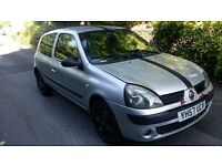 ****RENAULT CLIO 1.3 2007 SPORT CAMPUS MOTD & TAXED £399 ovno *******