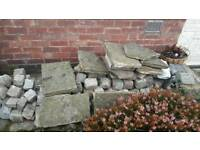 Yorkshire Stone Slabs & Granite Cobbles
