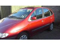Renault Megane Scenic, MOT to mid November, needs some minor repairs