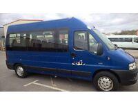 Peugeot Boxer 17 Seat Minibus