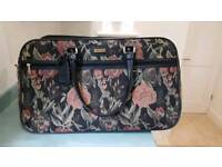 Large flowered holdall