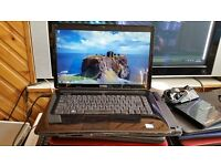 dell inspiron 1545 windows 7 4g memory 80g hard drive wifi webcam dvd drive cherger