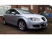 2007 Seat Leon 1.6 petrol MOT february 2018 very nice low mileage