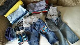 Baby boy bundle 12 -18 months