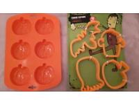 New Halloween cutters & Moulds
